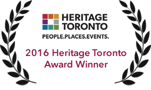 2016 Heritage Toronto Award Winner - Retrontario